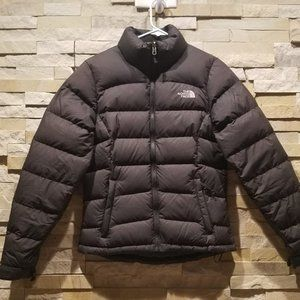 North Face Womens Black XS Down Puffer Jacket Coat